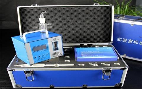 大气采样器气泵正常工作,流量调整到0.5L/min,气泡很小,或者没有气泡什么问题?